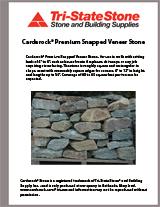 Carderock Premium Snapped Verneer Brochure