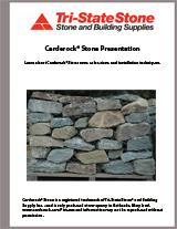 Carderock Stone Presentation